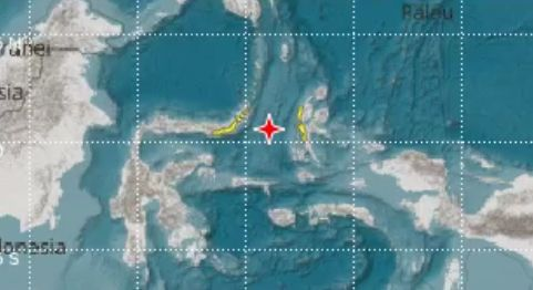 Imaginea articolului Un cutremur cu magnitudinea de 6,8 grade s-a produs pe insula Seram din Indonezia