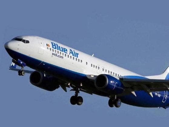 Imaginea articolului Cursă Blue Air, aterizare de urgenţă la Viena, după ce un pasager român a devenit agresiv - VIDEO