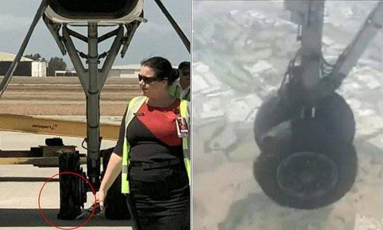 Imaginea articolului Clipe de suspans în aer: Un avion a fost nevoit să aterizeze de urgenţă după ce unul dintre cauciucuri a explodat | VIDEO