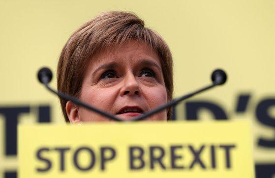 Nicola Sturgeon vrea referendum pentru independenţa Scoţiei faţă de Marea Britanie în 2020