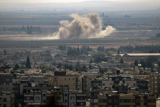 Imaginea articolului Forţele Democratice Siriene anunţă îngheţarea ofensivei împotriva grupării Stat Islamic