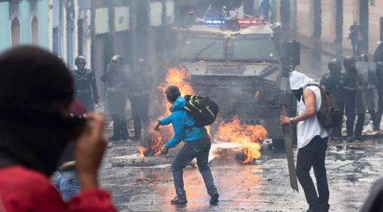 Imaginea articolului Preşedintele Ecuadorului anunţă noi măsuri fiscale în urma protestelor din ultima perioadă