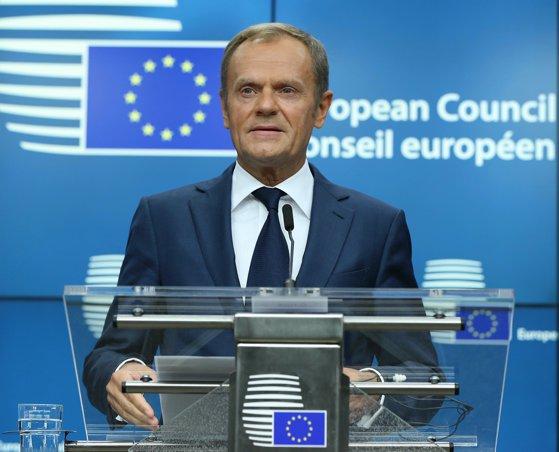 Imaginea articolului Donald Tusk recomandă amânarea retragerii Marii Britanii din Uniunea Europeană pentru evitarea unui Brexit fără acord / Care sunt următoarele etape