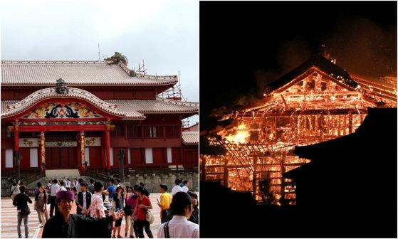 Imaginea articolului Incendiu devastator la castelul Shuri din Japonia, obiectiv aflat pe Lista Patrimoniului Mondial UNESCO - FOTO, VIDEO