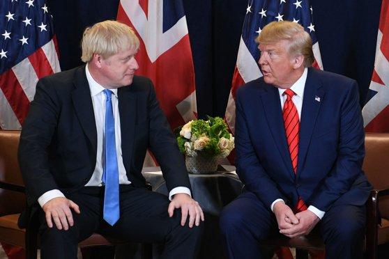 Imaginea articolului Donald Trump avertizează că Acordul Brexit riscă să afecteze relaţiile comerciale dintre Marea Britanie şi SUA