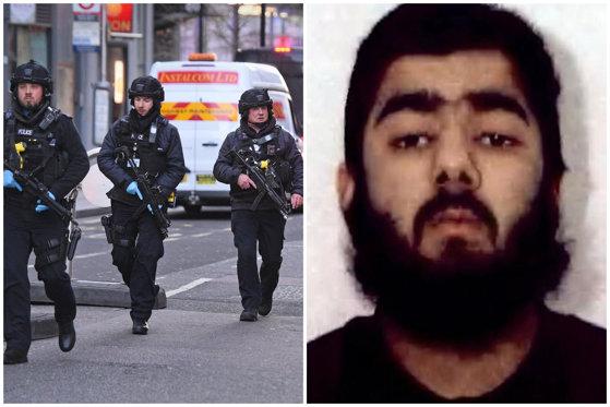 Imaginea articolului Atacul din Londra, soldat cu 2 morţi. Cine este autorul atentatului: a fost eliberat condiţionat din închisoare în 2018 şi purta o brăţară electronică de supraveghere