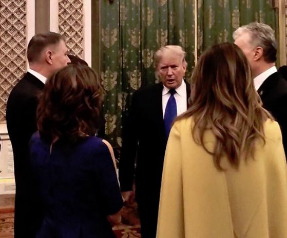 Imaginea articolului Klaus Iohannis s-a întâlnit cu Donald Trump la reuniunea NATO de la Londra. VIDEO