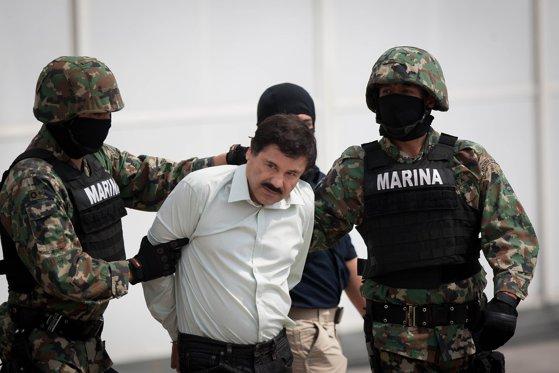 """Imaginea articolului Fostul şef al securităţii din Mexic, inculpat pentru că a primit o mită uriaşă de la """"El Chapo"""", şeful cartelului din Sinaloa"""