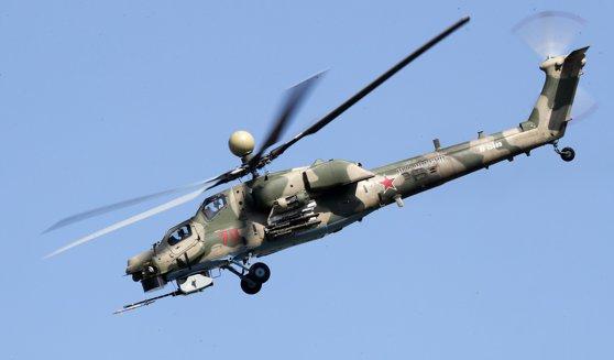 Elicopter militar prăbuşit în Rusia: Piloţii au murit în accident