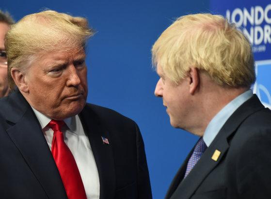 Imaginea articolului Mesajul lui Donald Trump pentru Boris Johnson după victoria conservatorilor