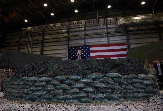 Imaginea articolului Donald Trump respinge ideea retragerii trupelor americane din Irak