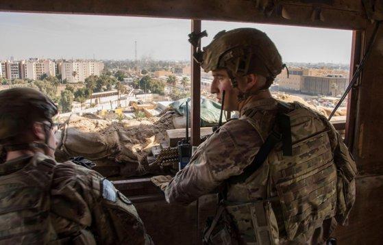 Imaginea articolului Nou atac asupra unei baze folosite de Statele Unite în Irak: Patru militari au fost răniţi