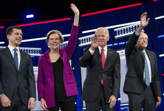 Imaginea articolului O dezbatere a candidaţilor democraţi pentru preşedinţia SUA a avut loc în Iowa