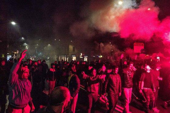 Imaginea articolului Italia a fost cuprinsă de un val de proteste violente, luni noaptea