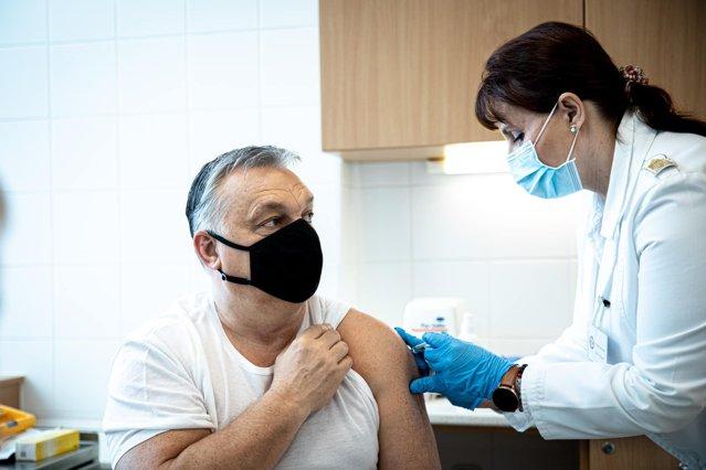 Premierul Ungariei, Viktor Orban, s-a vaccinat anti-COVID-19 cu serul chinezesc Sinopharm|EpicNews