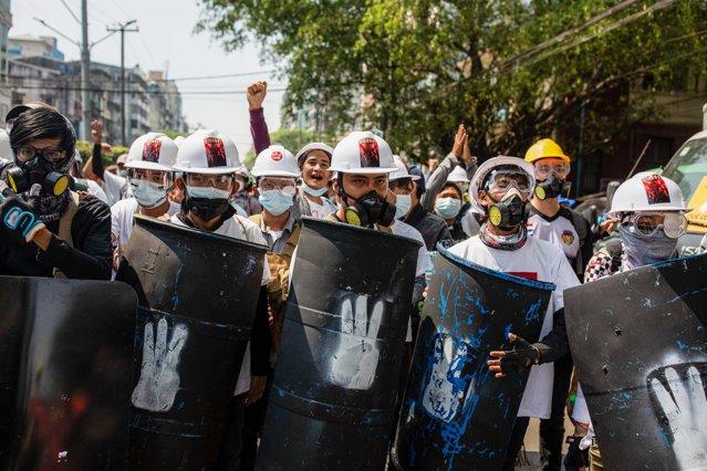 Protestele din Myanmar. Mai mulţi oameni au murit după ce forţele de ordine au deschis focul|EpicNews