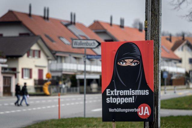 Elveţienii au aprobat prin referendum interzicerea acoperirii feţei. Măsura a fost sprijinită de partidele de dreapta|EpicNews