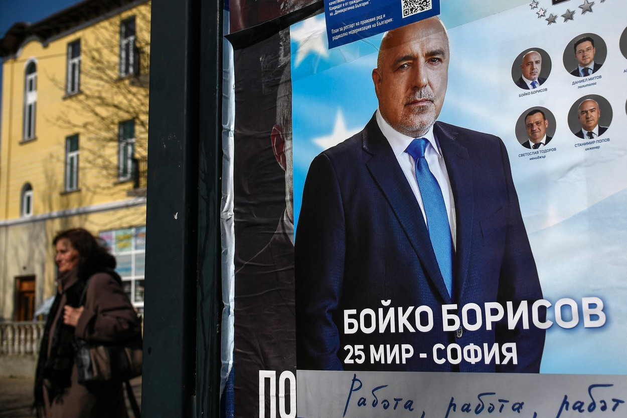 Alegeri Bulgaria. Partidul GERB, condus de Boiko Borisov, pe primul loc în scrutinul din Bulgaria