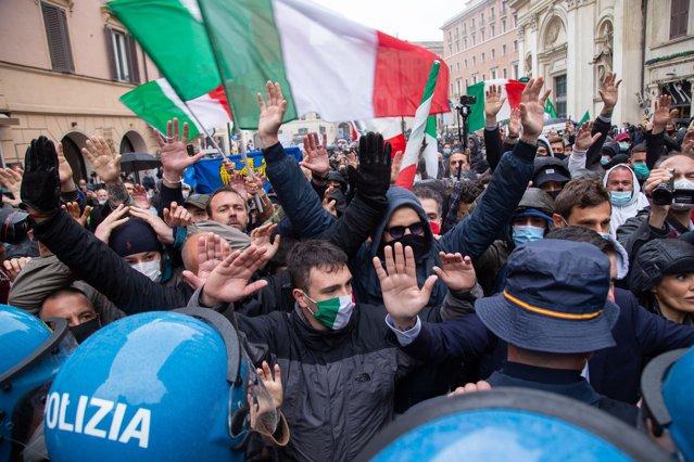 Proteste HORECA la Roma. Restaurantele din capitala Italiei rămân închise |EpicNews