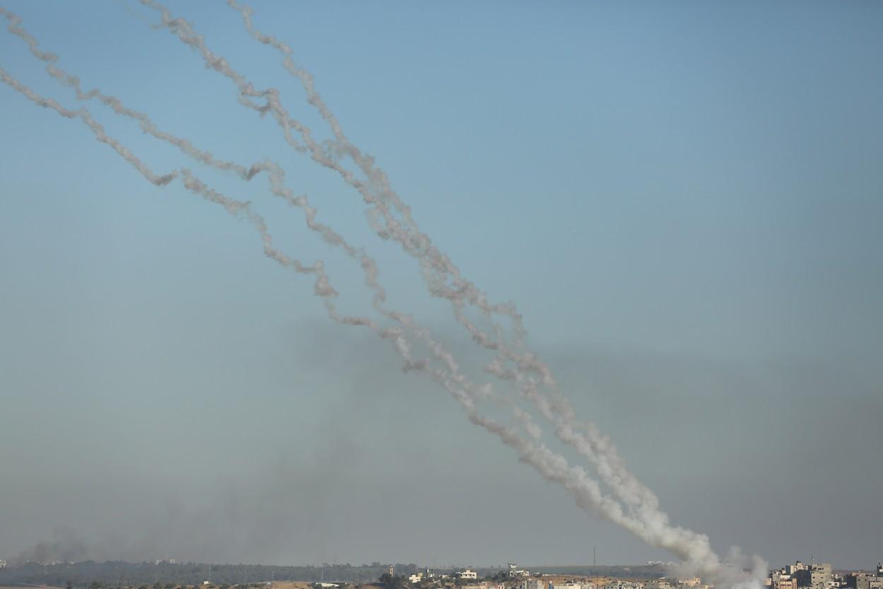 Trei rachete au fost lansate din sudul Libanului spre Israel