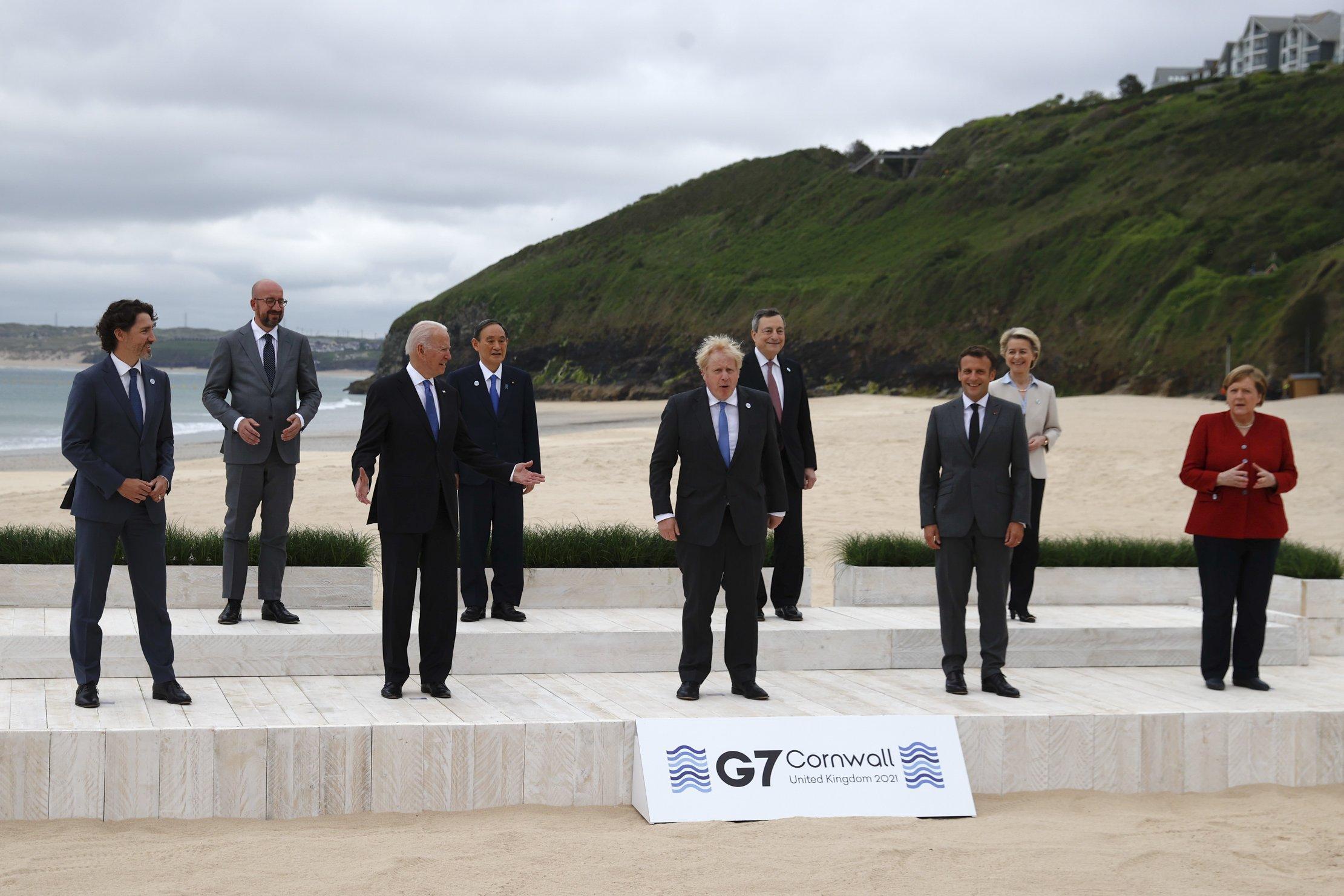 FT: Boris Johnson va fi supus presiunilor liderilor UE la summitul G7 în legătură cu Irlanda de Nord