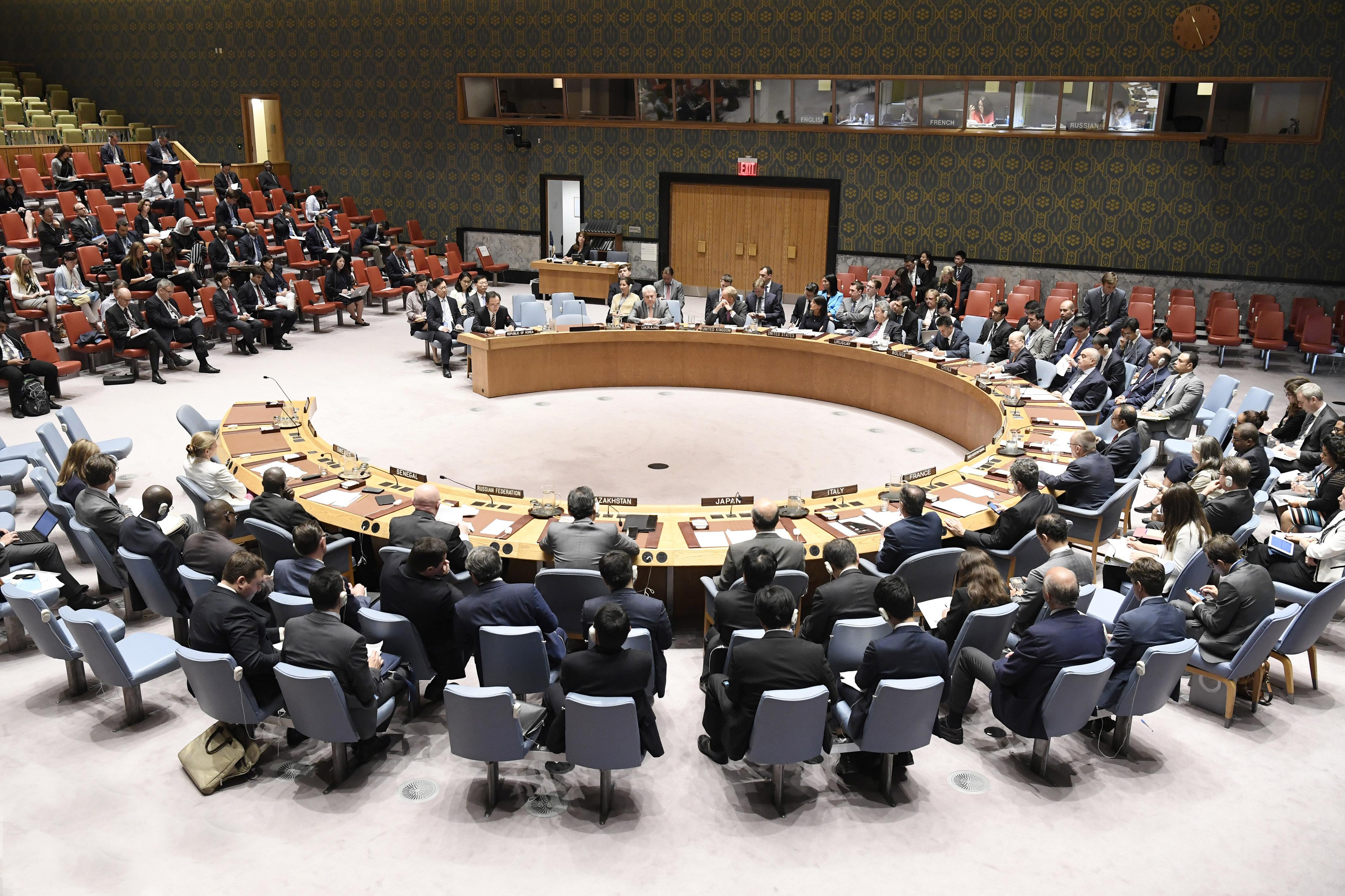 Consiliul de Securitate al ONU are noi membrii. Ţările care au câştigat mandatul de 2 ani