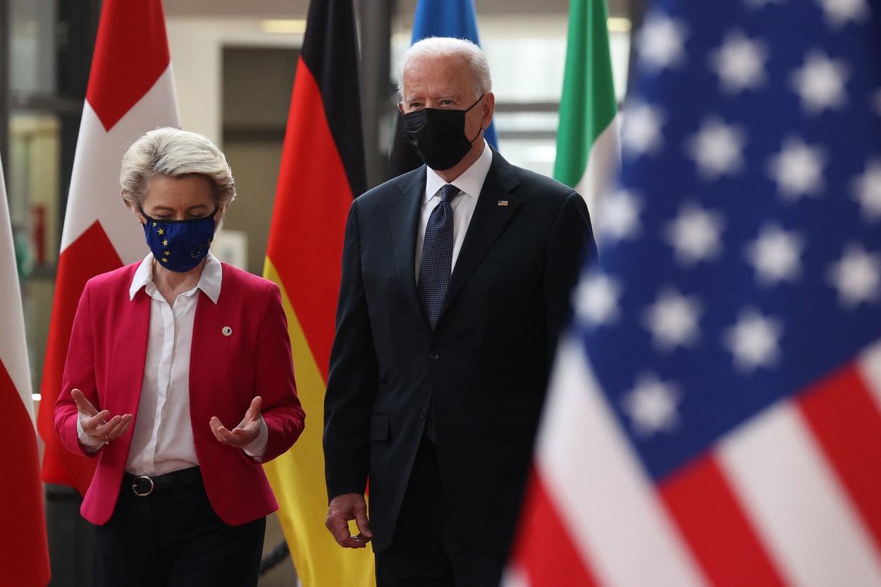 Summitul UE - SUA: Liderii europeni şi Joe Biden pledează pentru intensificarea cooperării