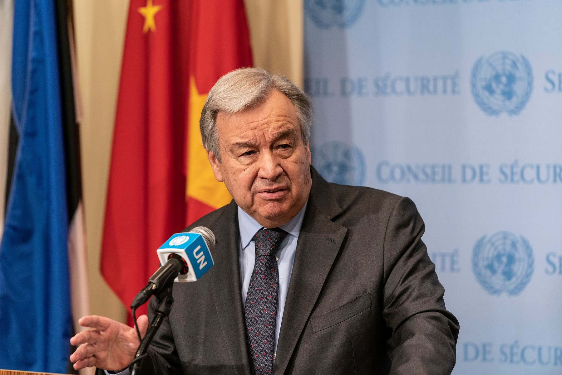 Antonio Guterres a fost reales secretar general al Naţiunilor Unite