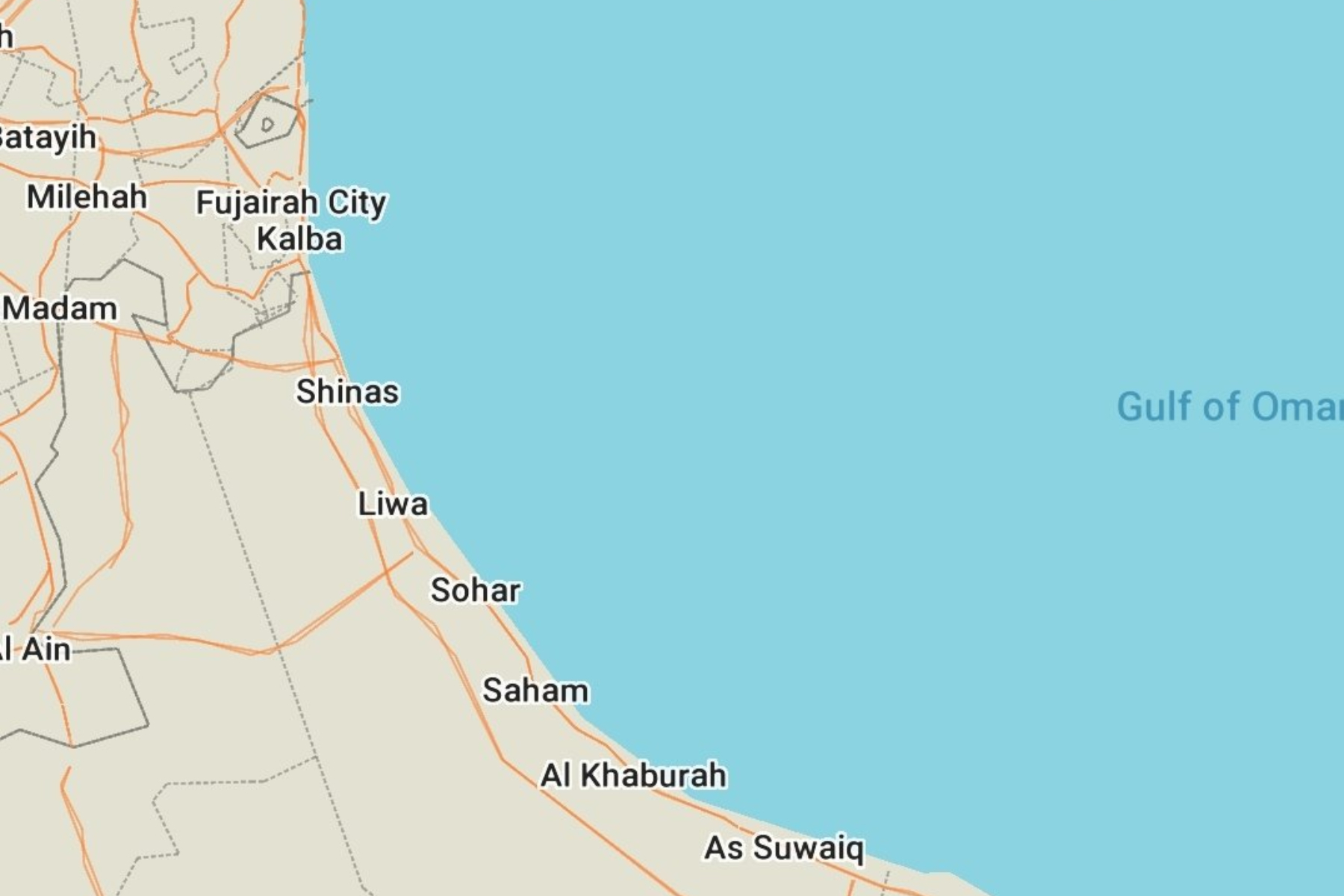 """Incident maritim în Golful Oman, în largul Emiratelor Arabe Unite. Forţele Navale britanice: """"Potenţială(...)"""