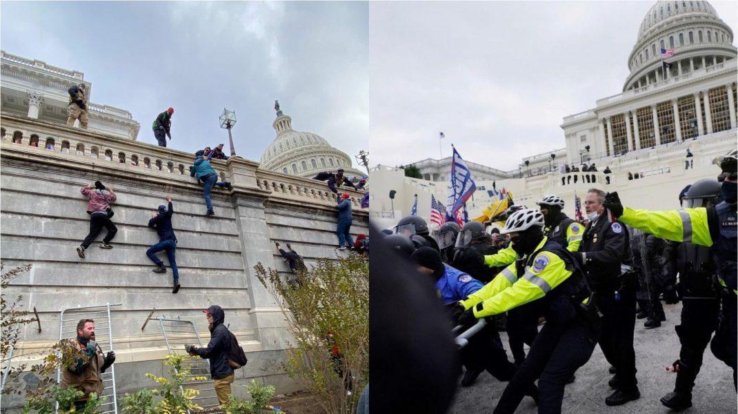 Clădiri din Capitoliu vor fi închise temporar de teama unor noi proteste violente
