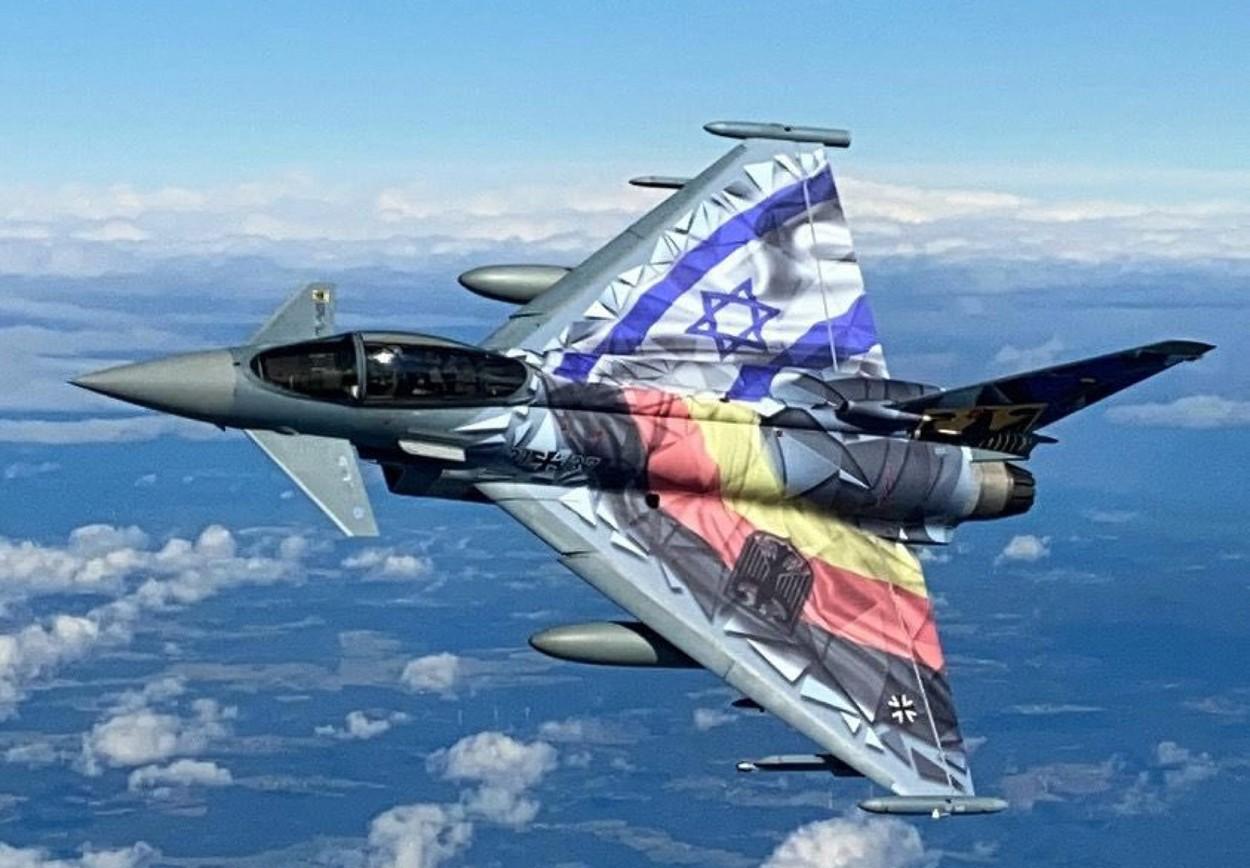 Cel mai mare exerciţiu aerian din Israel. Avioane din Israel şi Germania au survolat împreună