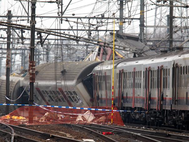 Accident feroviar în Belgia