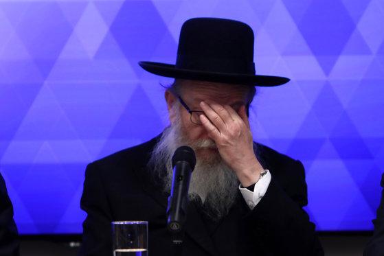"""Ministrul sănătăţii din Israel considera coronavirusul o """"pedeapsa divină"""" pentru homosexualitate. Acum, are şi el COVID-19"""