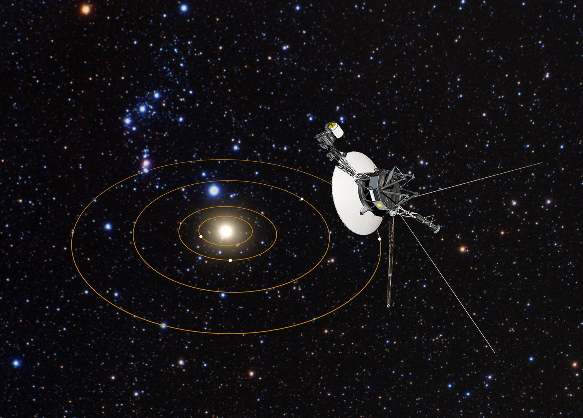 "Sonda spaţială Voyager a detectat un ""zumzet persistent"" dincolo de sistemul nostru solar"