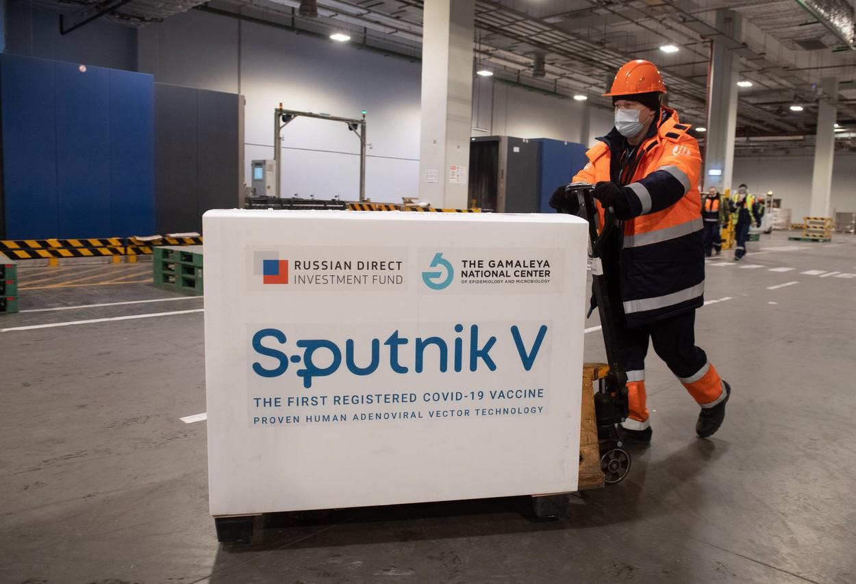 Vaccinul rusesc Sputnik V, tot mai cerut de ţările din Europa de Est