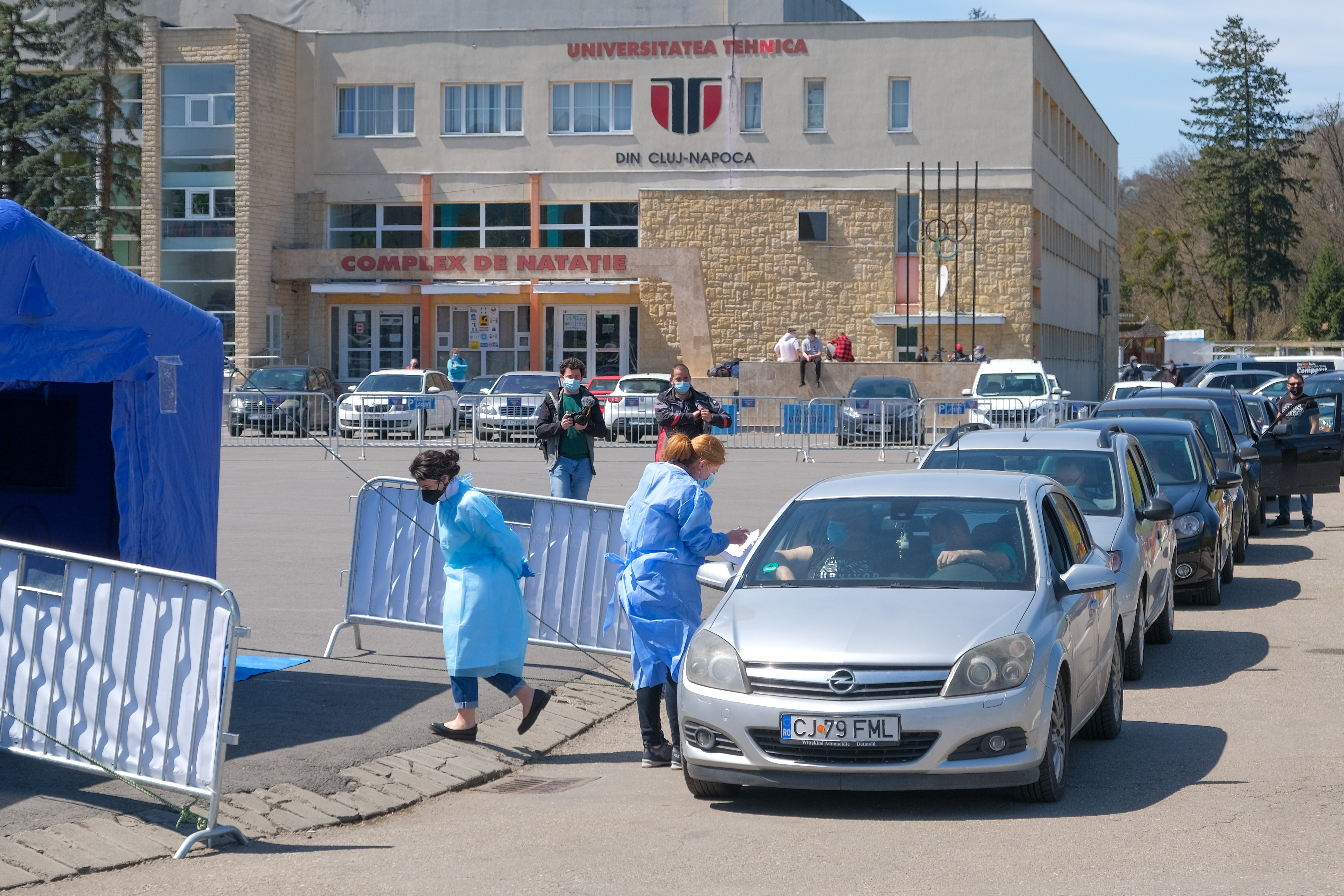 Rata de infectare este în creştere la Cluj-Napoca. Incidenţa se apropie de 6 la mie