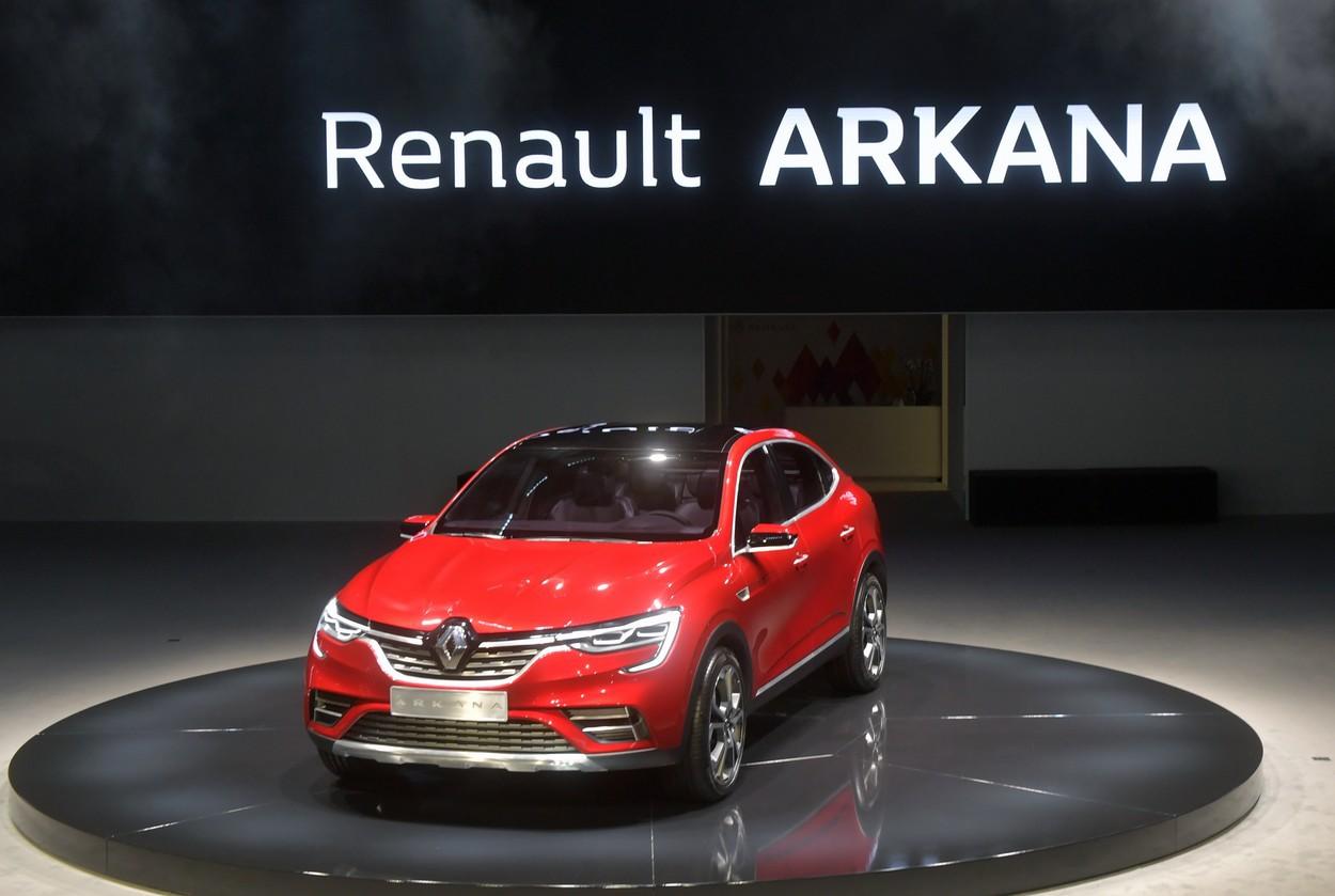 Renault deschide comenzile în România pentru noul Arkana