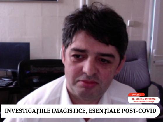 Healthcare Trends VIDEO. Recuperarea post-COVID. Cum depistăm afecţiunile după boală? Adrian Tătăranu, medic primar(...)