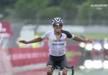 O primă mare surpiză la Jocurile Olimpice. Ecuadorul cucereşte a doua medalie de aur din istoria prin Richard Carapaz