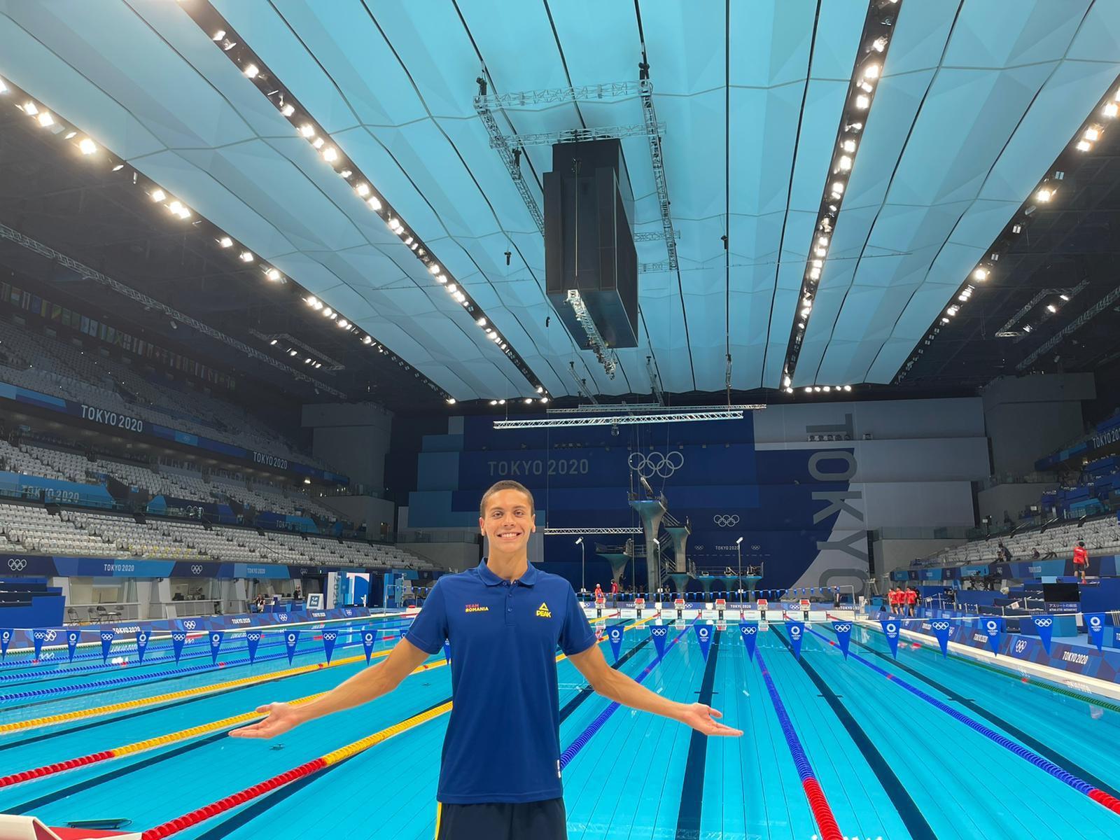 VIDEO Jocurile Olimpice. Fenomenalul David Popovici a terminat pe locul 4 finala de 200m liber. La două sutimi de podium