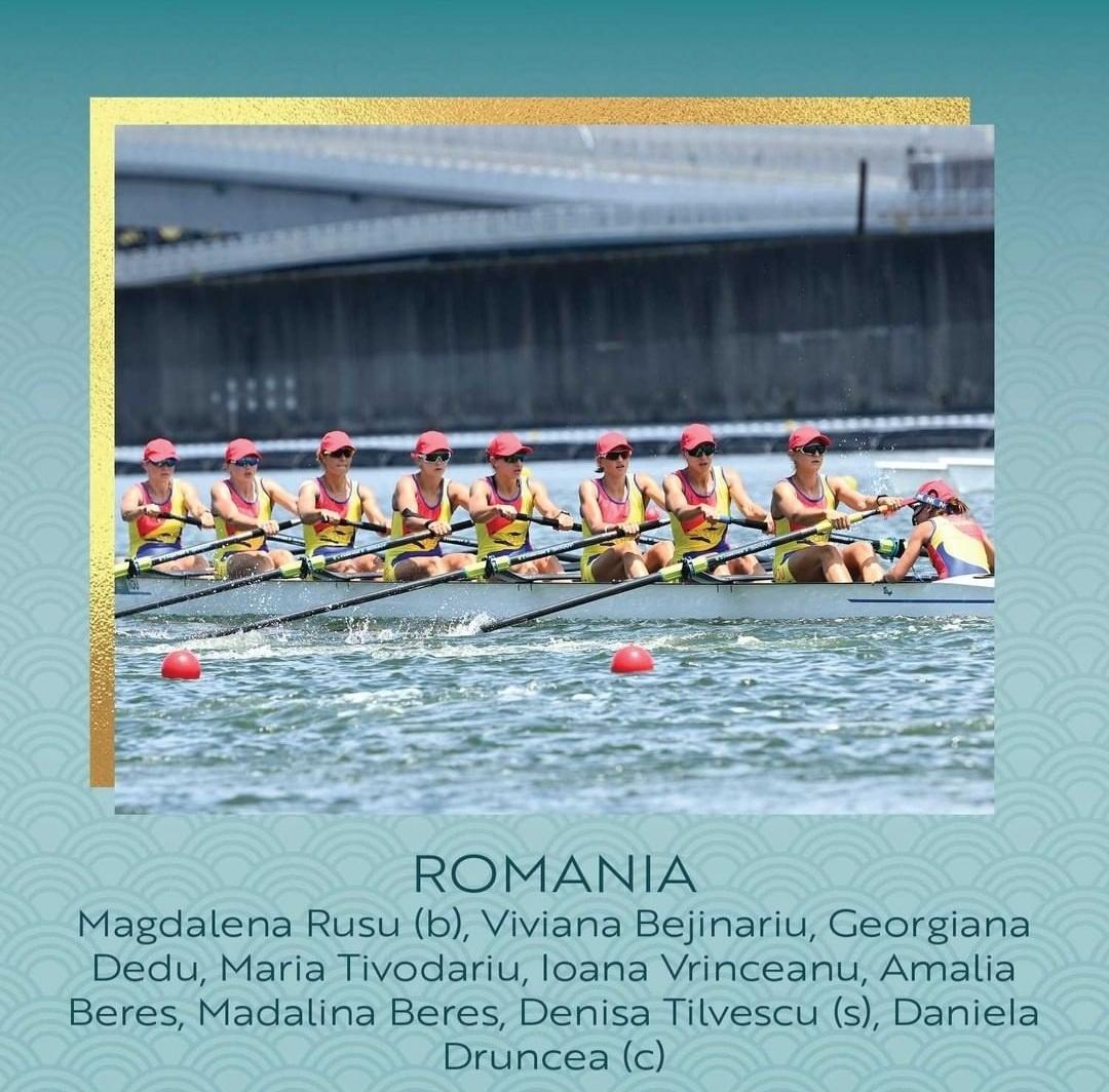Barca de 8+1 a terminat pe locul 6 finala. România rămâne cu 4 medalii la Jocurile Olimpice