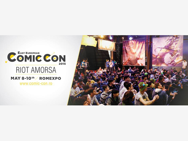 "Imaginea articolului Un reprezentant Riot Games, compania care a creat ""League of Legends"", la East European Comic Con"