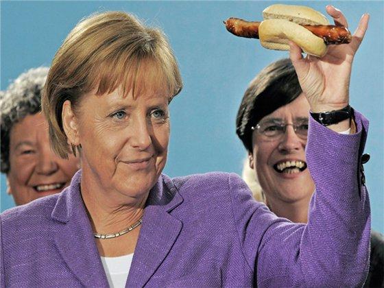 Merkel Sau