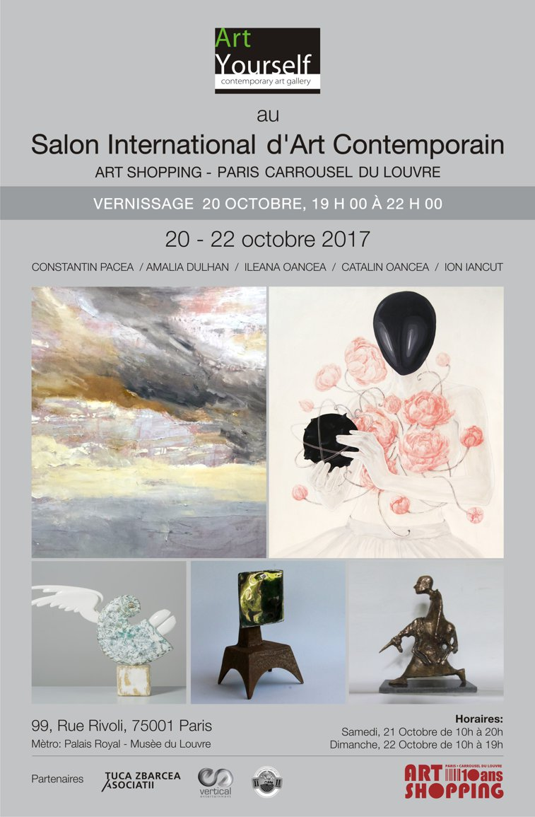 Imaginea articolului Art Yourself Gallery din Bucureşti participă la Salon International D'art Contemporain, Paris