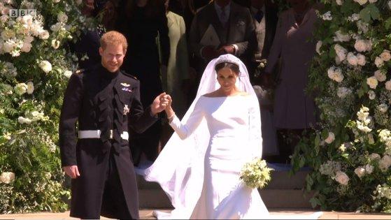 Nunta Regală Prinţul Harry S A Căsătorit Cu Meghan Markle La Altar