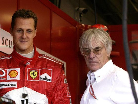 Imaginea articolului Maşina de Formula 1 în care Schumacher a câştigat un titlul mondial este scoasă la licitaţie | VIDEO