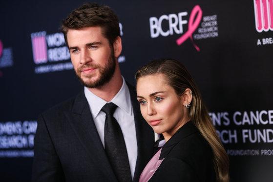 Imaginea articolului Miley Cyrus şi Liam Hemsworth se despart la opt luni de la nuntă