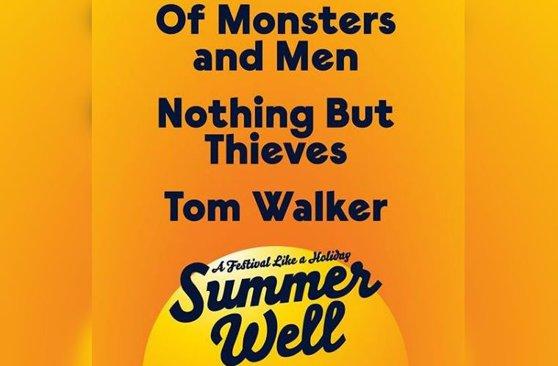 Imaginea articolului Ascultă SMART RADIO | Tom Walker, Nothing But Thieves, Of Monsters & Men, primii artişti confirmaţi la Summer Well 2020