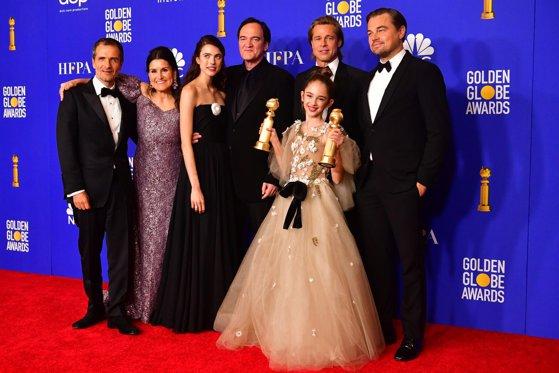 """Imaginea articolului """"Once Upon a Time in Hollywood"""", de Quentin Tarantino, marele câştigător al galei Globurilor de Aur"""