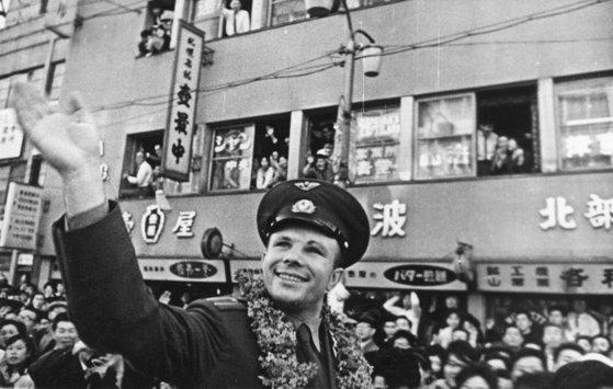 Imaginea articolului FOTO | Iuri Gagarin, extraterestrul? Misterul unui monument dedicat primului om ajuns în spaţiu